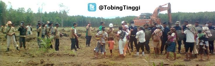 bentrok1 Fakta Konflik Lahan Di Padang Lawas (Tobing Tinggi)